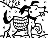 Dibujo de Perro 11 para colorear