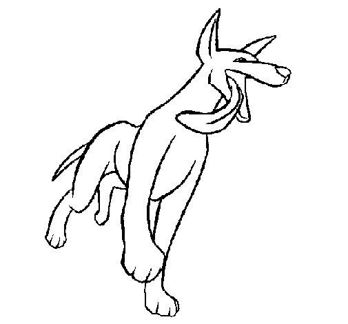 Dibujo de Perro para Colorear