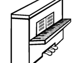 Dibujo de Piano