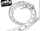 Dibujo de Polly Pocket 15 para colorear