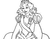 Dibujo de Princesa real