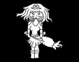 Dibujo de Princesa zorro
