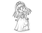 Dibujo de Princesita encantadora