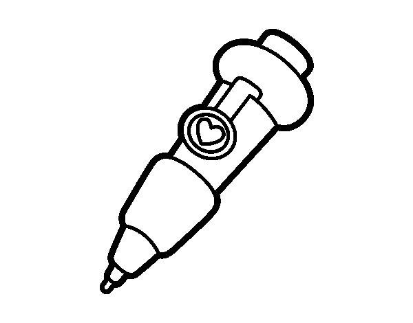 Dibujo de Punta fina para Colorear