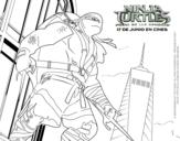 Dibujo de Raphael de Ninja Turtles