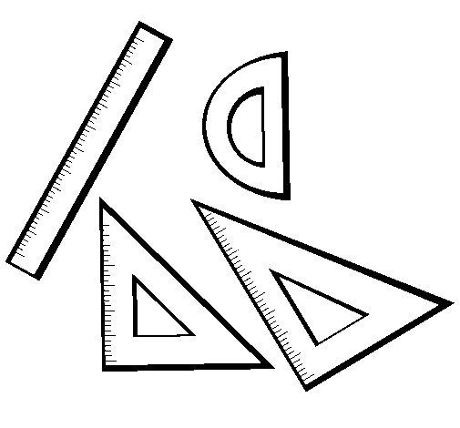 Dibujo de Reglas para Colorear