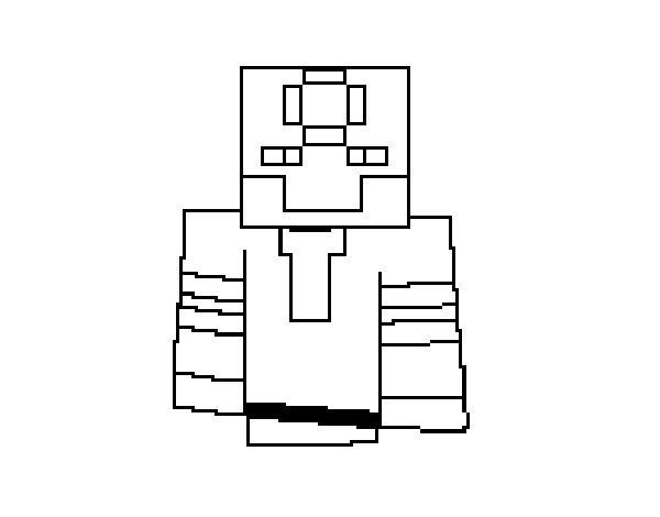 Dibujo de Robot transformer para Colorear