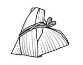 Dibujo de Rollito taiwanés