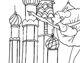 Dibujo de Rusia 1 para colorear
