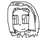 Dibujo de Sakura 1 para colorear