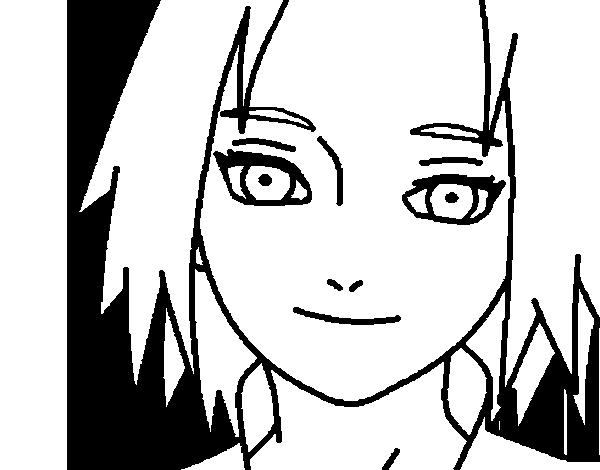 Dibujo de Sakura Haruno red para Colorear - Dibujos.net