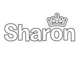 Dibujo de Sharon para colorear