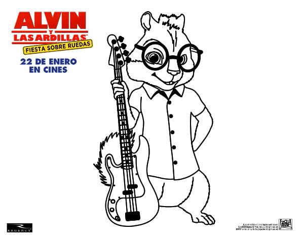 Alvin y las Ardillas Fiesta sobre ruedas llega a Dibujos.net con ...