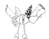 Dibujo de Skylanders Imaginators de Ana 3 para colorear