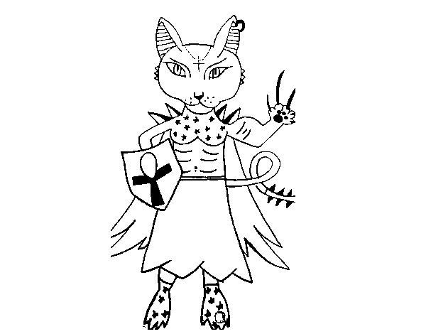 Dibujo de Skylanders Imaginators de Ana 4 para Colorear