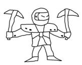 Dibujo de Skylanders Imaginators de Jona