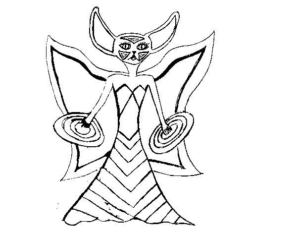 Dibujo de Skylanders Imaginators de Sara para Colorear