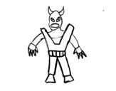 Dibujo de Skylanders Imaginators dibujado por Gonza para colorear