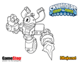 Dibujo de Skylanders Swap Force Magna Charge para colorear