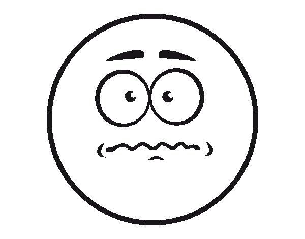 Dibujo de Smiley temor para Colorear  Dibujosnet
