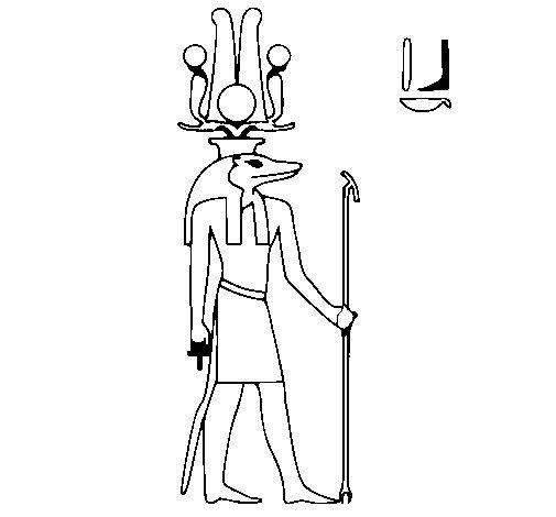 Dibujo de Sobek para Colorear