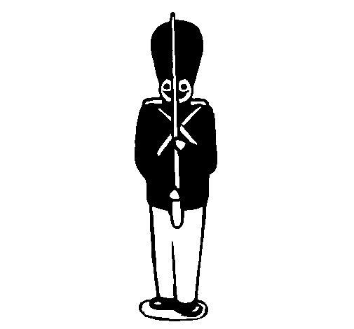 Dibujo de Soldado de plomo para Colorear