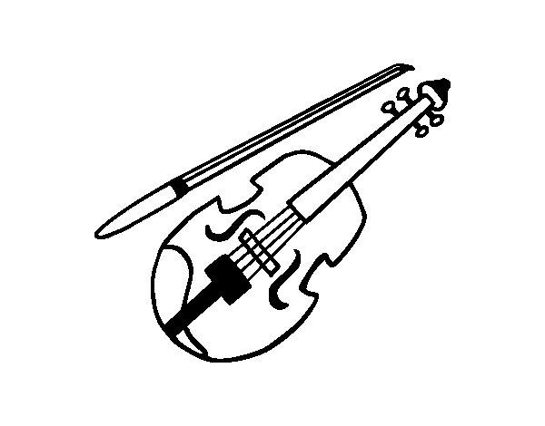 Dibujo de Stradivarius para Colorear