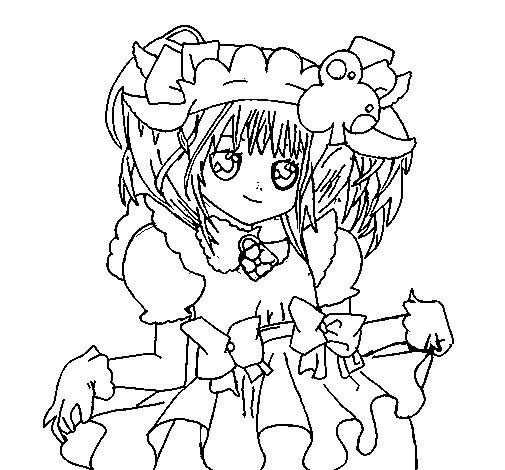 Dibujo de Su Shugo Chara para Colorear