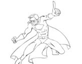 Dibujo de Súper chico para colorear