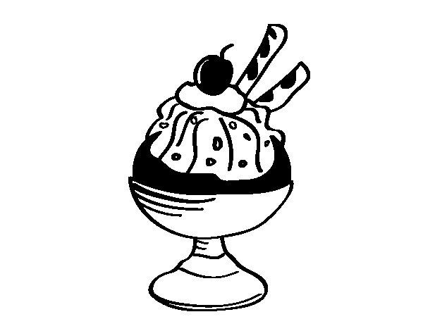 Dibujo de Sper helado para Colorear  Dibujosnet