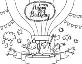 Dibujo de Tarjeta de Feliz Cumpleaños
