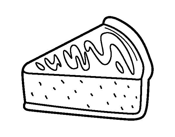 Dibujo de Tarta de caramelo para Colorear - Dibujos.net