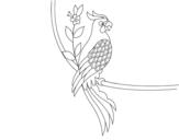 Dibujo de Tatuaje de loro