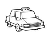 Dibujo de Taxi urbano