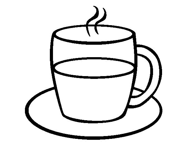 Kleurplaat Mug Dibujo De T 233 Para Colorear Dibujos Net