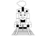 Dibujo de Thomas de Thomas y sus amigos para colorear