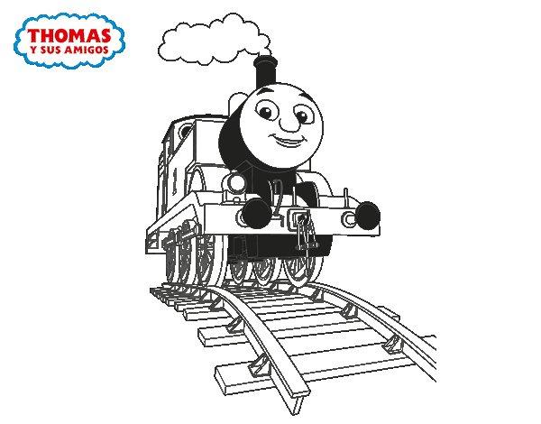 Dibujo de Thomas en marcha para Colorear