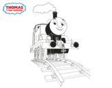 Dibujo de Thomas en marcha
