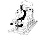 Dibujo de Thomas la locomotora para colorear