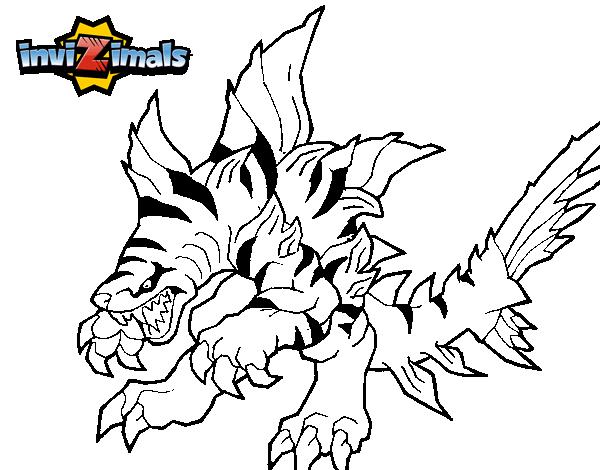Dibujo de Tigershark para Colorear  Dibujosnet