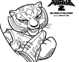 Dibujo de Tigresa 2