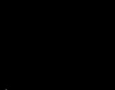 Dibujo de Tiranosaurio feliz para colorear