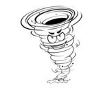 Dibujo de Tornado fuerza 3