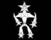 Dibujo de Transformer estrella para colorear