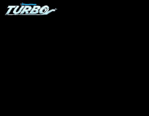 Dibujo de Turbo - Látigo para Colorear
