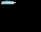 Dibujo de Turbo - Sombra para colorear
