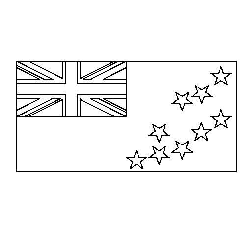 Dibujo de Tuvalu para Colorear