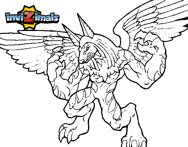 Dibujo de Uberjackal para Colorear  Dibujosnet