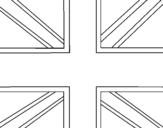 Dibujo de UK para colorear