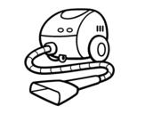 Dibujo de Un aspirador para colorear